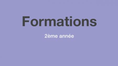 Formation en Art-thérapie AMC© 2018 – cycle deuxième année