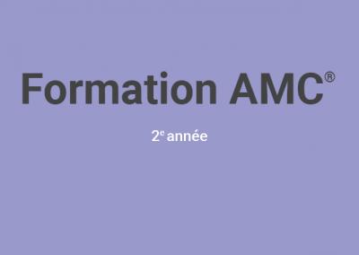 Formation de base en Art-thérapie AMC© 2e année (Cycle 2019)