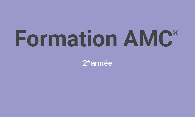 Formation de base en Art-thérapie AMC© 2e année (Cycle 2018)