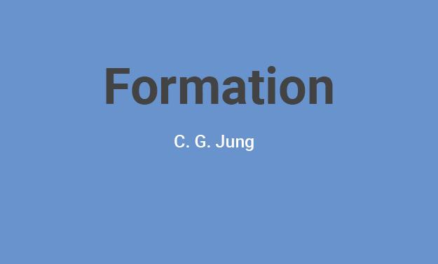 Formation : Introduction à la pensée de C.G. Jung 2019