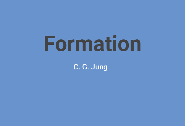 Formation : Introduction à la pensée de C.G. Jung 2019